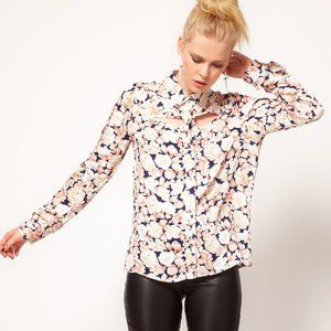 NWOT | MINKPINK When Doves Cry Cutout Blouse